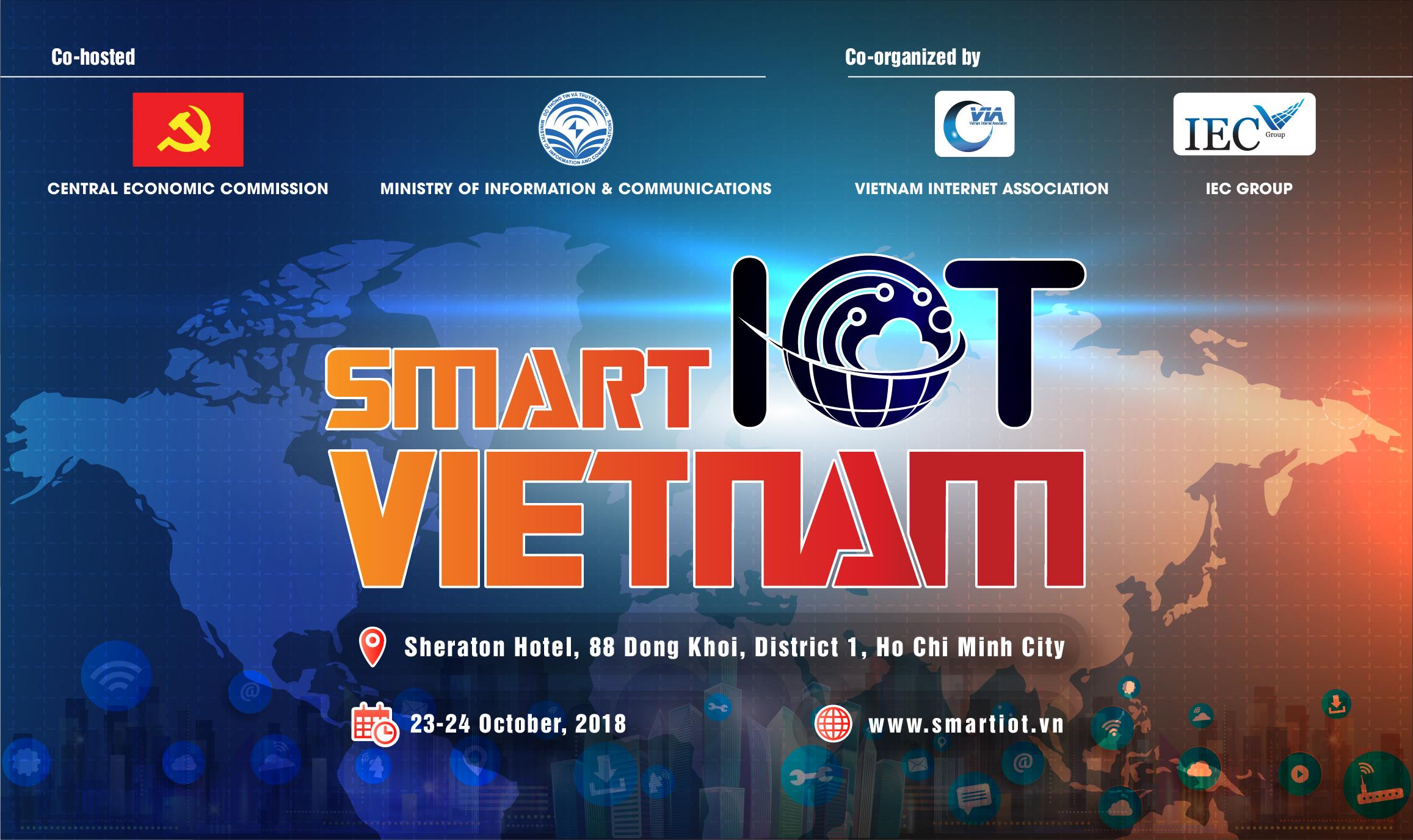 Hội thảo – Triển lãm quốc tế SMART IOT VietNam 2018