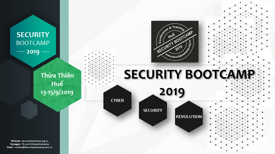 Security Bootcamp 2019 - Cyber Security Revolution