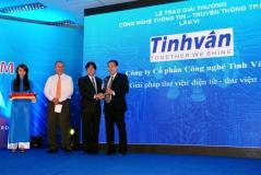 Tinh Vân nhận giải thưởng CNTT – TT thành phố Hồ Chí Minh lần thứ 6 với giải pháp thư viện điện tử Libol