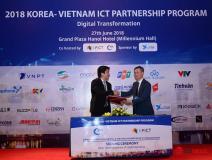 Việt Nam - Hàn Quốc tiếp tục hợp tác sâu trong lĩnh vực CNTT