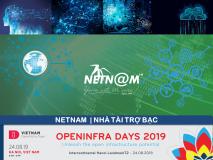NETNAM – Nhà tài trợ Bạc OPENINFRA DAYS 2019