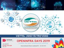 VIETTEL – Nhà tài trợ Vàng OPENINFRA DAYS 2019