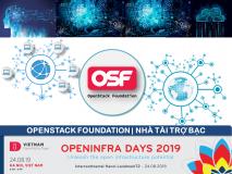 OpenStack Foundation - Nhà tài trợ Bạc OPENINFRA DAYS 2019