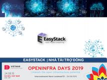 EasyStack - Nhà tài trợ Đồng OPENINFRA DAYS 2019