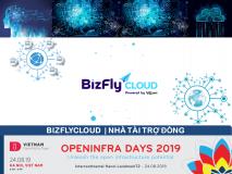 BizflyCloud - Nhà tài trợ Đồng OPENINFRA DAYS 2019