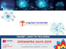 Taknet Systems - Nhà tài trợ Đồng OPENINFRA DAYS 2019