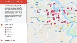 Chuyên gia an ninh mạng: bản đồ lưu ý dịch Covid-19 trên Google map độ chính xác không cao