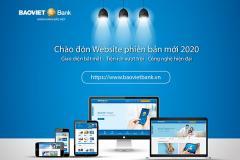 Hyperlogy hoàn thành Dự án Nâng cấp Website BAOVIET Bank Phiên bản mới  2020