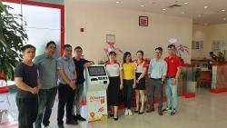Hyperlogy triển khai thành công Kiosk Smart Self Service (Smart Kiosk) cho HDBank