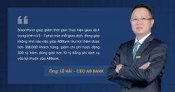 SmartForm giúp ABBank thu hút thêm được hơn 368.000 khách hàng trong năm 2020.